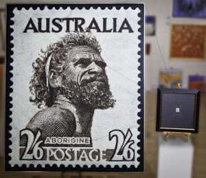 Stamp Super Enlargement